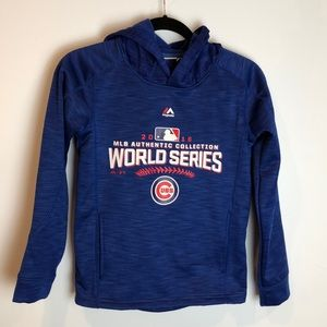 Cubs Youth World Series Hoodie M
